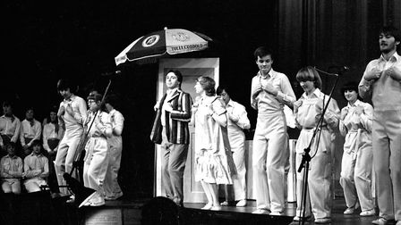 Scouts and Girl Guides come together to put on their annual gang show Picture: JOHN KERR
