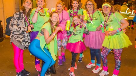 The Midnight Walk, which starts at Trinity Park, raises money to fund the hospice which provides pal