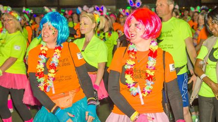 St Elizabeth Hospice's Midnight Walk in Ipswich was awarded the title of the best in the UK last yea