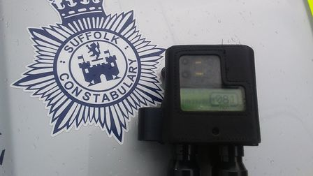 Police said they recorded a driver on the A140 at Coddenham travelling at 81mph in a 50mph zone. Pic