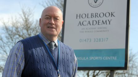 Tributes have been paid following the death of Holbrook Academy headteacher Dr Simon Letman Picture: