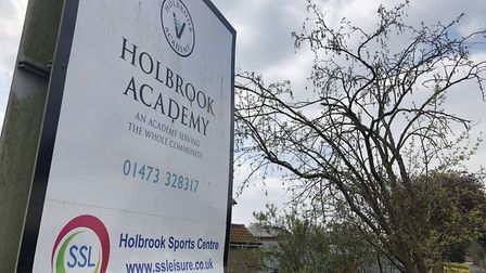 Holbrook Academy is currently broken up for Easter, but the school is open for visitors to leave flo