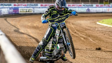 Cameron Heeps, had a decent meeting for the Witches at Lynn. PICTURE STEVE WALLER www.stephenwall