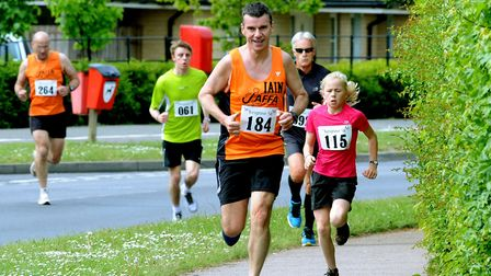 The Kesgrave 5k Fun Run will return on Sunday, May 6. Pictured is a previous event. Picture: ANDY AB