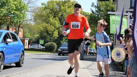 The Kesgrave 5k Fun Run will return on Sunday, May 6. Pictured is a previous event. Picture: CHLOE B