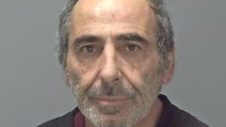 Salvatore Dellabella, of Ipswich, who has been jailed at Ipswich Crown Court for possession of 1kg o