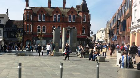 Easter weather is expected to be fine - but where are the Cornhill deckchairs?l Picture PAUL GEATER