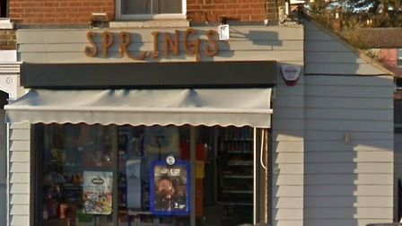Suffolk police has arrested a 35-year-old man in connection with a robbery at Springs shop in Spring