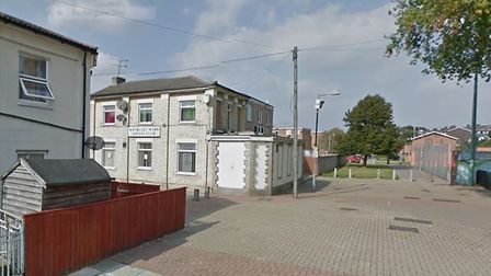 Westgate Social Club, off Victoria Street, Ipswich, where the alleged incident happened Picture: GOO