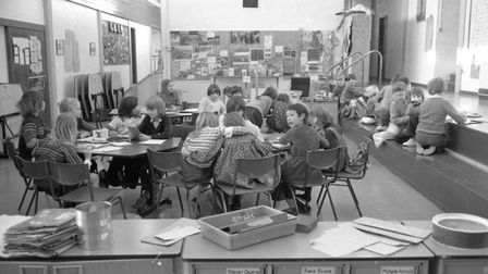 Children doing group work in the classroom Picture: ARCHANT