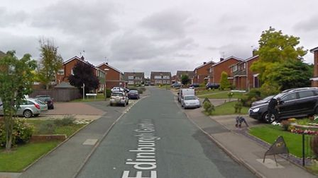 One resident of Edinburgh Gardens in Claydon said he was in the garden with his son when he heard th