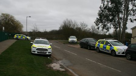 Police were back at Marlow Road on Tuesday morning Picture: PAUL GEATER