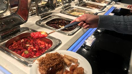 There are a number of other Chinese buffets in Ipswich and further afield in Suffolk. PICTURE: Arch