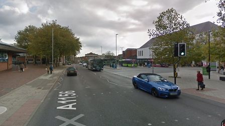 The accident happened near Crown Pools at Tower Ramparts Picture: GOOGLE MAPS