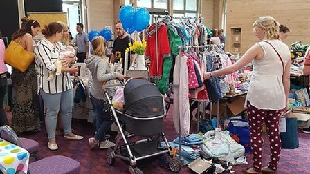 A baby and toddler show is coming to Trinity Park Picture: THE MARKET FOR MUMS