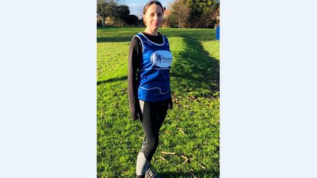 Fiona Smith is taking on this weekend's London Marathon Picture: SUPPLIED BY FIONA SMITH