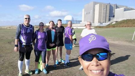 As well as running the Kesgrave parkrun, Ray has run parkruns at Sizewell and Felixstowe Picture: RU