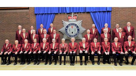 Suffolk Constabulary Male Voice Choir will join police choirs and musical groups from across the UK