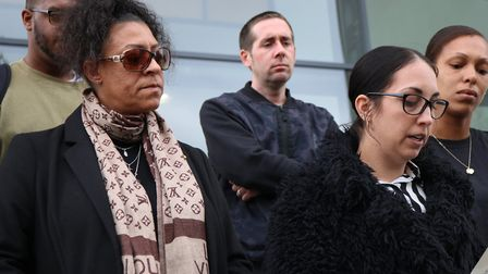 A statement was read out on behalf of Tavis's mother, Sharon Box Picture: CHARLOTTE BOND