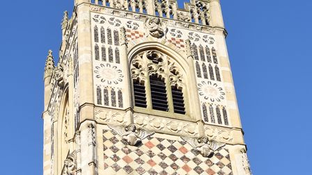 The lofty tower of St Lawrence's Church. Picture: Sarah Lucy Brown