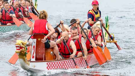 Fresh Start - new beginnings is inviting entries to the Ipswich Dragon Boat Race Picture: STEPHEN W