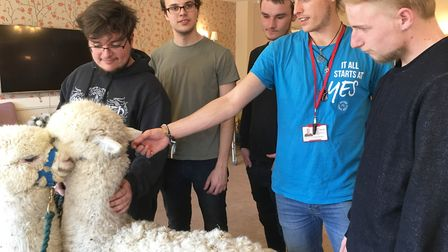 Participants graduated from the Inspire Suffolk Prince's Trust Team Programme in April 2019. Picture