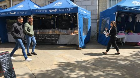 Are you aged 18 -30? Have you got what it takes to run a stall on Ipswich Market? Picture: SUZANNE D