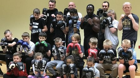 Boxing sessions in Ipswich are being held for children as young as 6 to stop them falling into a lif