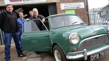 The East Anglian Mini Centre in Ipswich has closed down. Photo: Phil Morley.