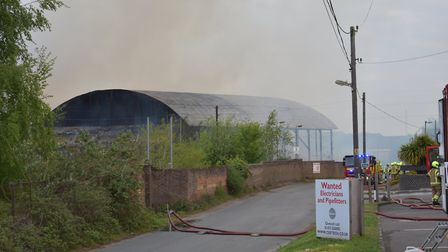 The former Fisons site in Paper Mill Lane between Claydon and Bramford Picture: OLIVER SULLIVAN