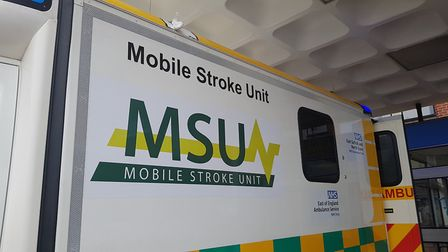The stroke unit has previously been trialled at Southend Hospital and in Germany. Picture: RACHEL E