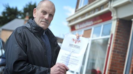 Mr Molyneux has complained to police and Action Fraud about the missing deposit Picture: SARAH LUCY