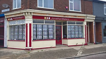 The former Jonathan Waters Estate Agents office in Foxhall Road, Ipswich Picture: ARCHIVE