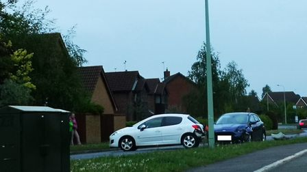 One eyewitness described joggers directing traffic at the scene Picture: ARCHANT