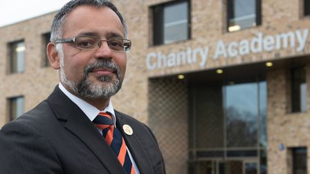 Principal of Chantry Academy Craig D'Cunha Picture: SARAH LUCY BROWN