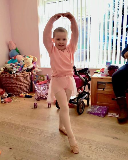 Arabella Scannell is a keen dancer. Picture: SCANNELL FAMILY