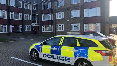 A woman was left with serious burn injuries following the fire in Fitzgerald Court in Ipswich Pictur