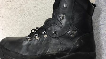 Pc Amy Macaulay said her police issued boot may have rescued her ankle from being permanently injure