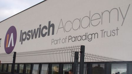 Ipswich Academy is hosting classroom sessions for parents. Picture: SIMON PARKER