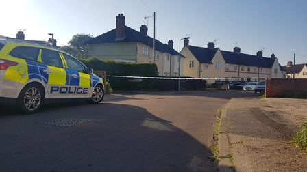 Emergency services were called to reports of a stabbing in Ipswich at around 11pm yesterday Picture: