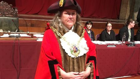 New Mayor of Ipswich Jan Parry Picture: PAUL GEATER
