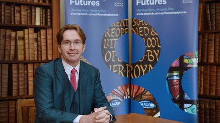 Headmaster Nicholas Weaver is leading the launch of Founding Futures - a new campaign to support mor