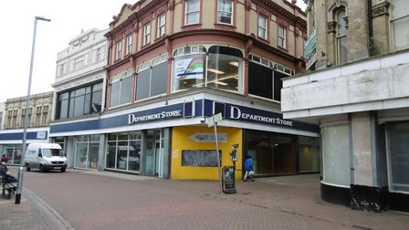 The main part of the former Ipswich Co-op department store is earmarked to become a new town centre