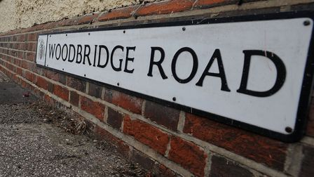 Police raided an address in Woodbridge Road Picture: ARCHANT