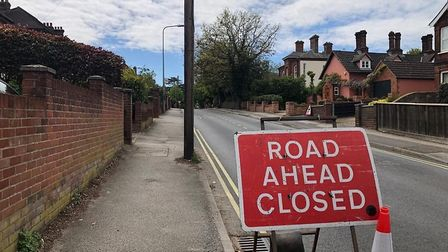 Residents are complaining after the closure of Belstead Road while gas company Cadent carry out work