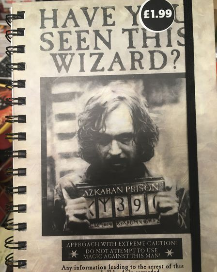 There were a wide range of Harry Potter products for sale at the Hines Road Aldi in Ipswich : SUZAN