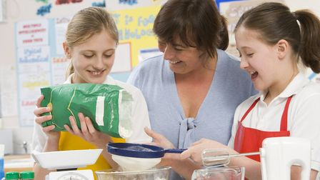 Cooking skills are among those being offered to Ipswich schoolchildren through the Essential Life Sk