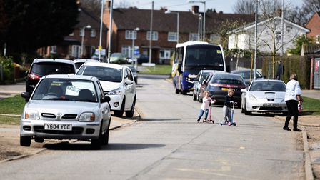 Marlow Road in Whitehouse. A survey is being held to see what people think of life in the area. Pict