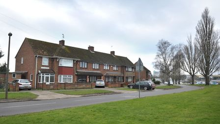 Whitehouse Road in Ipswich. Drop-in events are being held to get people's views on life in the area.
