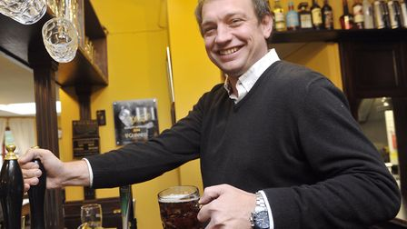 The Greyhound landlord Dan Lightfoot says the Ipswich food and drink pub is bucking the trend of pub